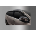 Autoclover Window Door Visor Deflector For Ford New Endeavour Set of 6 Smoke Color