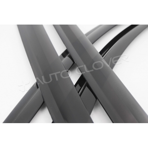Autoclover Window Door Visor Deflector For Hyundai i20 Elite Set of 4 Smoke Color
