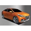 Autoclover Window Door Visor Deflector For Hyundai New Verna 2017 2018 Set of 6 Smoke Color