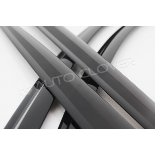 Autoclover Window Door Visor Deflector For Maruti Suzuki Celerio Set of 4 Smoke Color