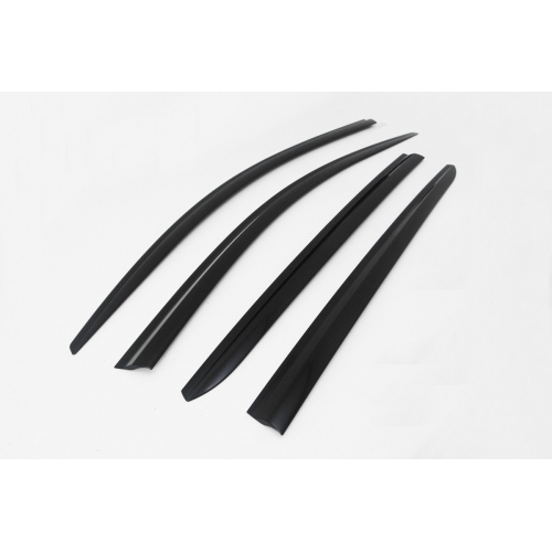 Autoclover Window Door Visor Deflector For Maruti Suzuki Ertiga Set of 4 Smoke Color