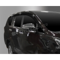Autoclover Window Door Visor Deflector For Toyota Innova Crysta Set of 6 Smoke Color