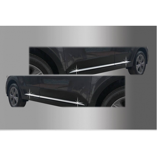 Autoclover High Quality Custom Fitted Chrome Side Skirt Trims For Hyundai Creta Set Of 4
