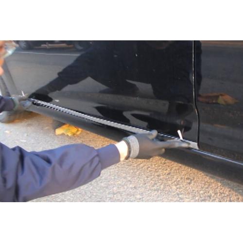 Autoclover High Quality Custom Fitted Chrome Side Skirt Trims For Hyundai Verna Fluidic Set Of 4