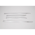 Autoclover High Quality Custom Fitted Chrome Side Skirt Trims For Toyota Innova Crysta Set Of 4