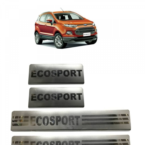 Ford Ecosport Door Scuff Sill Plate Guards (Set of 4 Pcs.)