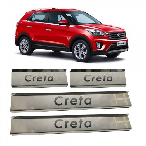 Hyundai Creta Door Scuff Sill Plate Guards (Set of 4 Pcs.)