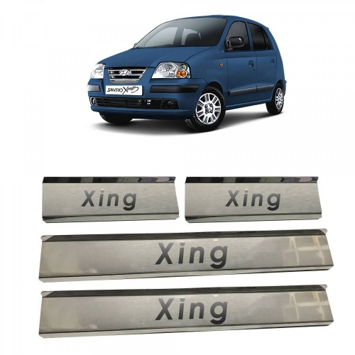 Hyundai Santro Xing Door Scuff Sill Plate Guards (Set of 4 Pcs.)