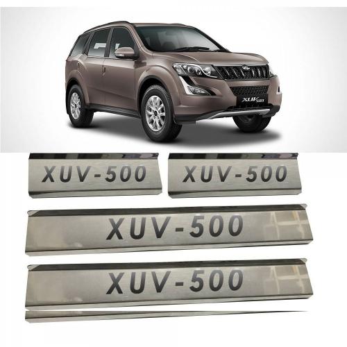 Mahindra Xuv 500 Door Scuff Sill Plate Guards (Set of 4 Pcs.)