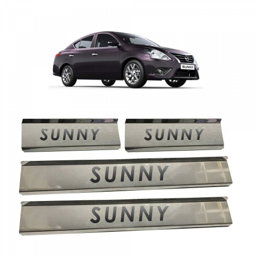 Nissan Sunny Door Scuff Sill Plate Guards (Set of 4 Pcs.)