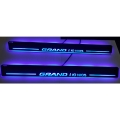 LED Matrix Moving Light Scuff Sill Plate Guards for Hyundai Grand i10 Nios (Set of 4Pcs.)