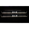Car Door LED Light Scuff Sill Plate Guards for Maruti Nexa XL6 (Set of 4Pcs.)
