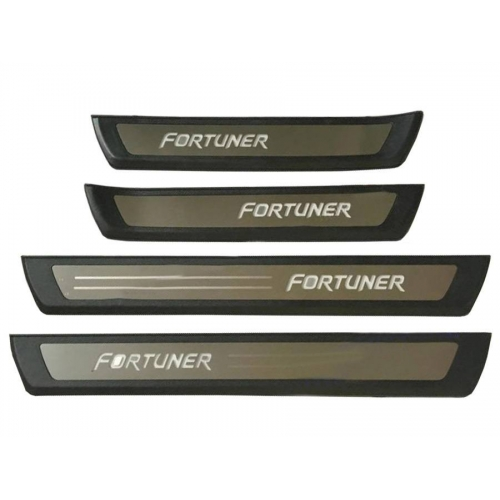 Toyota Fortuner New OEM Led Scuff Door Side Sill Plates (Set Of 4 Pcs.)