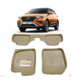 Leathride Texured 3D Car Floor Mats For Hyundai New Creta 2018
