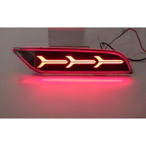 Hyundai New Creta 2018 Bumper LED Reflector Lights in Arrow Style (Set of 2Pcs.)