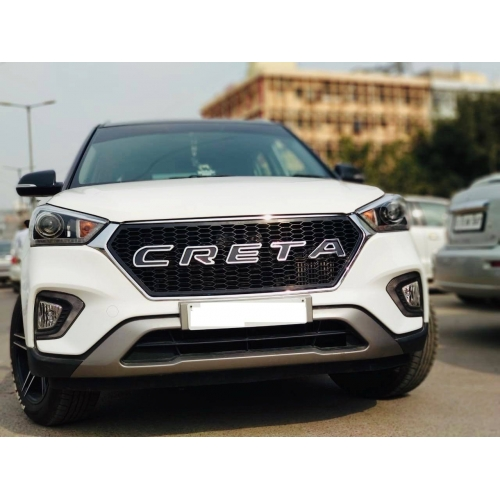 Logo Front Grill For Hyundai New Creta 2018