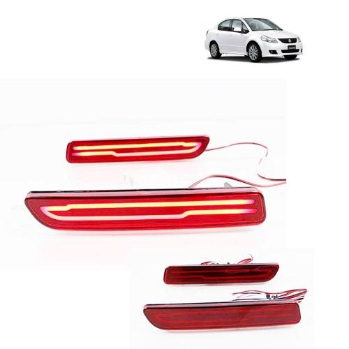 Maruti Suzuki SX4 Bumper LED Reflector Lights (Set of 2Pcs.)