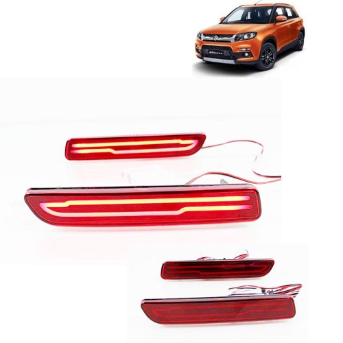 Maruti Suzuki Vitara Brezza Bumper LED Reflector Lights (Set of 2Pcs.)