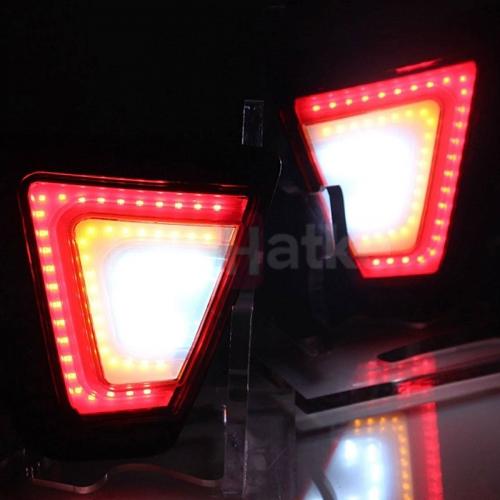 Honda Jazz 2015-2019 Bumper LED Reflector Lights (Set of 2Pcs.)