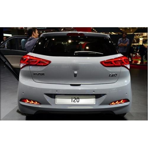 Hyundai i20 Elite Old Bumper LED Reflector Lights in Arrow Design (Set of 2Pcs.)