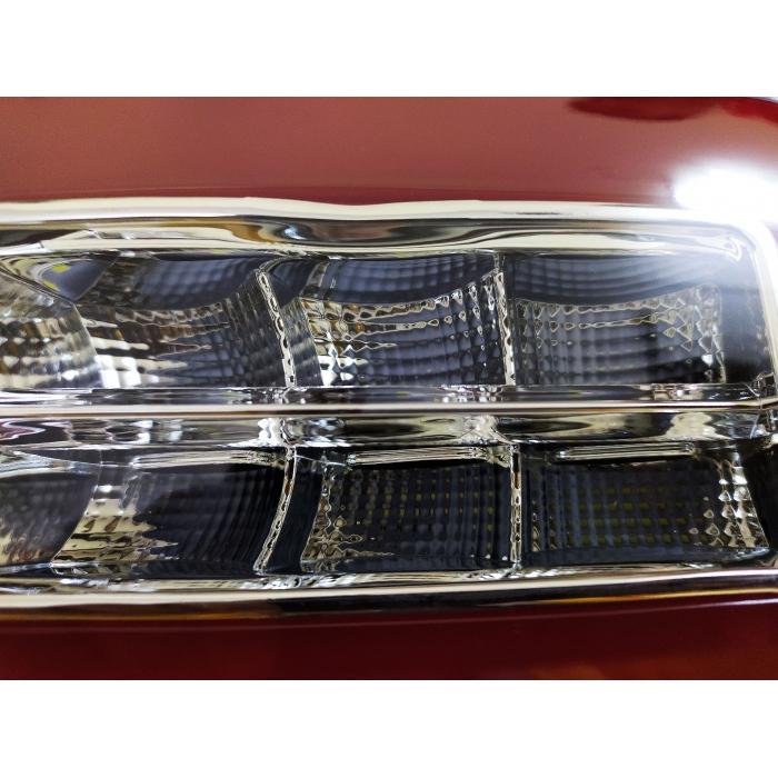 Hyundai Venue Bumper Reflector LED Light Tail Light Design By Volmax (Set of 2Pcs.)
