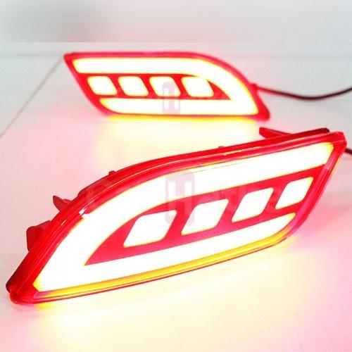 Jeep Compass Bumper LED Reflector Lights (Set of 2Pcs.)