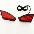 Mahindra XUV 500 Back Bumper LED Reflector Lights (Set of 2Pcs.)