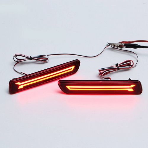 Maruti S Cross Bumper LED Reflector Lights in New Design (Set of 2Pcs.)