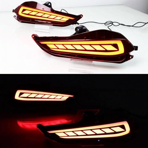 Toyota Yaris Back Bumper LED Reflector Lights (Set of 2Pcs.)