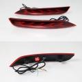 Volkswagen Polo Bumper LED Reflector Lights in Arrow Design (Set of 2Pcs.)