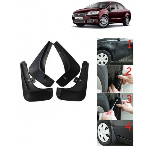Techo Best Quality O.E Type Mudflap For Fiat Linea Set Of 4