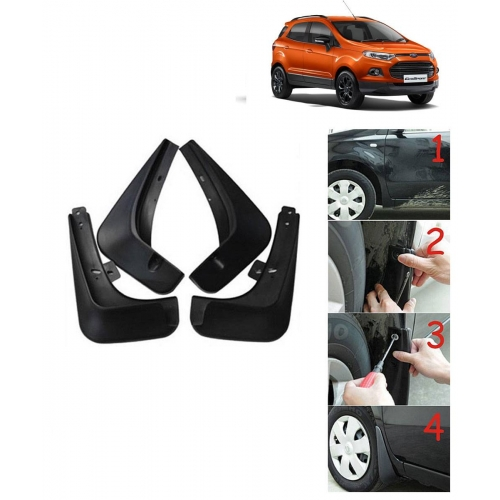Techo Best Quality O.E Type Mudflap For Ford Ecosport Set Of 4