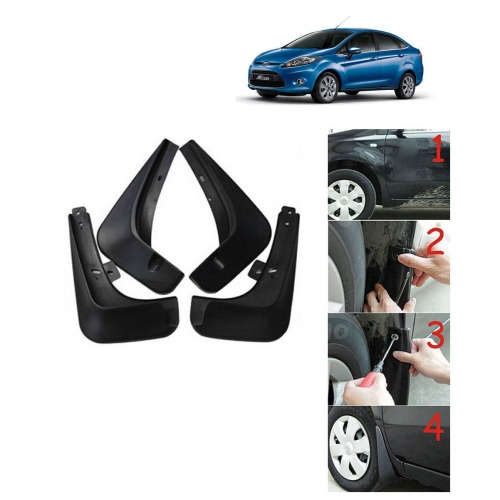 Techo Best Quality O.E Type Mudflap For Ford Fiesta Set Of 4