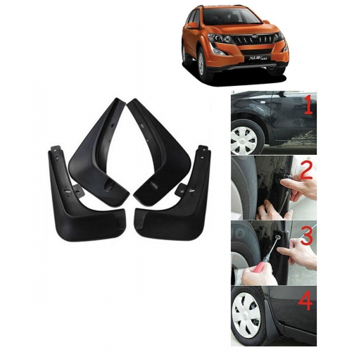 Techo Best Quality O.E Type Mudflap For Mahindra XUV 500 Set Of 4