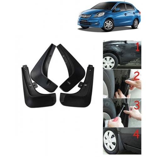 Techo Best Quality O.E Type Mudflap For Honda Amaze Set Of 4
