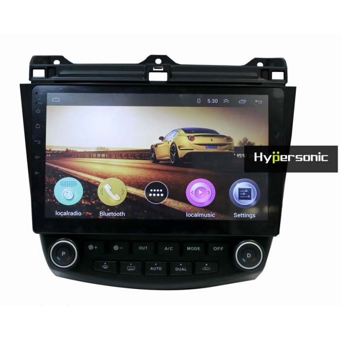 Honda Old Accord 10 Inches HD Touch Screen Android Stereo (2GB, 16GB) with Stereo Frame By Hypersonic