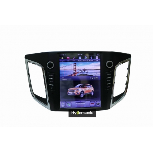 Hyundai Creta 10.4 Inches Tesla Style HD Android Stereo (4GB, 32GB) with Stereo Frame By Carhatke