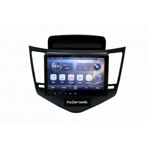 Chevrolet Cruze 10 Inches HD Touch Screen Android Stereo (2GB, 16GB) with Stereo Frame By Carhatke