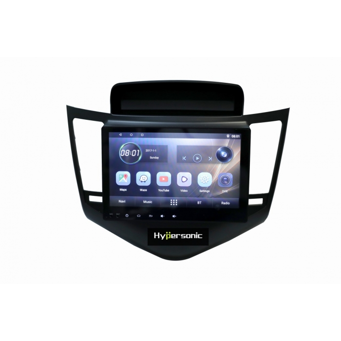 Chevrolet Cruze 10 Inches HD Touch Screen Android Stereo (2GB, 16GB) with Stereo Frame By Hypersonic