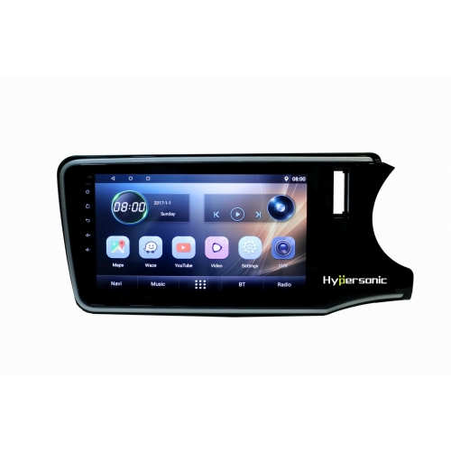 Honda City Idtech 2014 8 Inches HD Touch Screen Android Stereo (2GB, 16GB) with Stereo Frame By Hypersonic