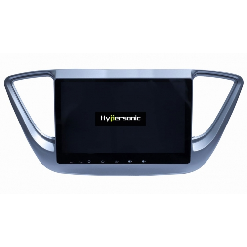 Hyundai New Verna 2018 HD 10 Inches Touch Screen Android Stereo (2GB, 16GB) with Stereo Frame By Carhatke
