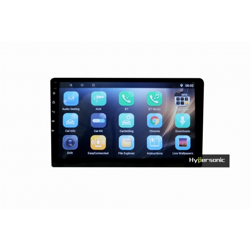 Volkswagen Polo 9 Inches HD Touch Screen Android Stereo (2GB, 16GB) with Stereo Frame By Carhatke