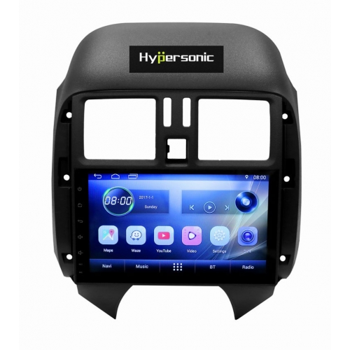 Nissan Sunny 8 Inches HD Touch Screen Android Stereo (1GB, 16GB) with Stereo Frame By Carhatke