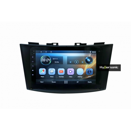 Maruti Suzuki Swift Dzire Old 8 Inches HD Touch Screen Android Stereo (2GB, 16GB) with Stereo Frame By Carhatke