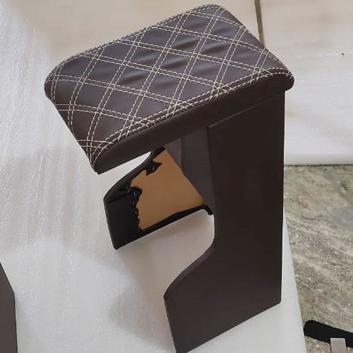 Mahindra New Thar 2020 Customize Wooden Armrest For Rear and Front (Set of 3)