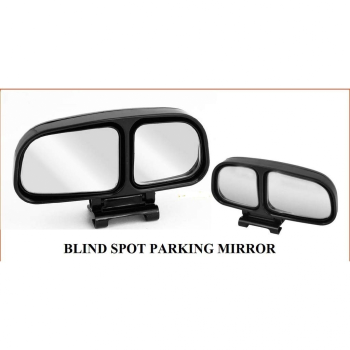 3R Wide Angle Side Rear View Blind Spot Mirror For All Cars - Set Of 2