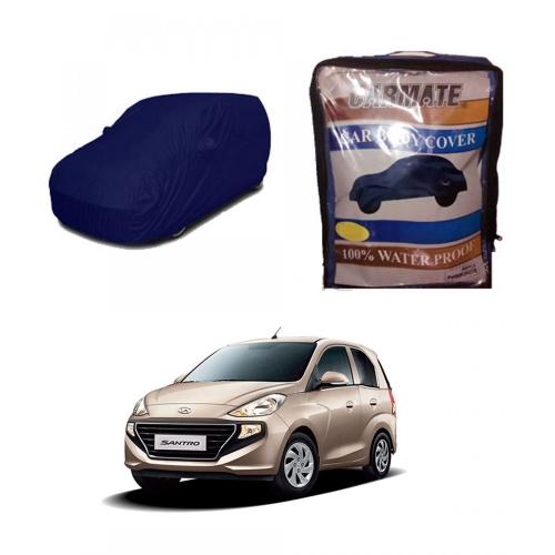 Carmate Parachute Fabric Car Body Cover for Hyundai New Santro 2018