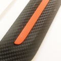 Universal Bumper Protector Guard For All Car Carbon Graphite Texture