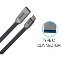 Toreto Charge and Sync Cable Type C 3.0 Fleet TOR 802