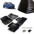 Ford New Ecosport Premium 5D Car Floor Mats (Set of 3, Black)